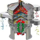 Rotary Circular Vibrating Screen (sieve machine) for Chilli Powder