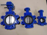 Bare Shaft Lugged Type Butterfly Valve