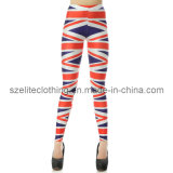 Ladies High Quality Polyester Legging (ELTLGJ-16)
