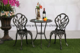 Outdoor Garden Furniture Cast Aluminum Table with Chair