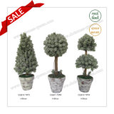 H36cm Best Price Plastic Artificial Plant Artificial Tree Artificial Flower