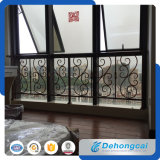 Decorative Durable European Wrought Iron Fence