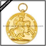 Factory Custom High Quality Metal Golden Medal (BYH-101041)