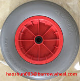 400-8 Flat Free PU Foam Wheel for Wheel Barrow