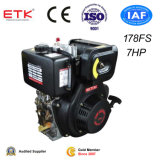 7HP Diesel Engine with a Low Fuel Consumption (Electric Start)