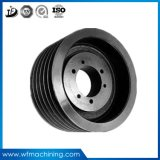 OEM Gear Pulley Sand Iron Metal Mold Casting V Wheel Belt Pulley with Casting Process