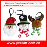 Christmas Decoration (ZY15Y014-4-5-6) Christmas Mark Santa Claus Topper
