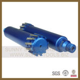 Straight Shank Wet and Dry Turbo Diamond Core Drill Bit for Stone (SY-DCDB)