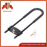 Jq8106 High Quality Durable U Shape Locks Bicycle Lock with Pvu