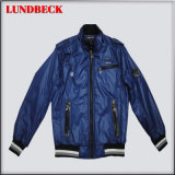 Fashion PU Jacket for Men in Good Quality