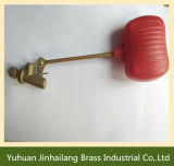 Red Drill Pipe Brass Float Valve, Water Tank Float Valve