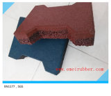 200mm*160mm*23mm Sidewalk Rubber Flooring Tile