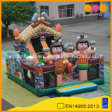 Hot Sale Outdoor Playground Inflatable Toy Fun City for Kids (AQ01724)