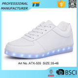 Latest Waterproof LED Light Running Unisex Micro Fiber Shoes