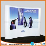 260GSM Polyester Quality Aluminum Fabric Pop up Wall Display