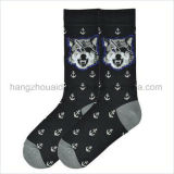 OEM Animals Design Combed Cotton Children Sock