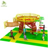 2017 Novel Design Whitby Indoor Playground Gta Equipment UK with Rainbow Net