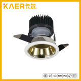 7W Embedded Champagne Gold Cup CREE LED Wall Washer