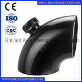 HDPE Siphon Drainage Pipe Fittings 90 Degree HDPE Fitting with Checking Hole HDPE Drainage Fittings