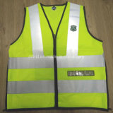 Carabineros De Chile Safety Vest with 3m Reflective Tape Embroidery