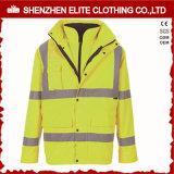 Reflective Yellow Safety Life Protective Safety Jacket (ELTSJI-9)