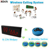 Restaurant Equipment Wireless Call Buzzer Electronic Bell Set Restaurant Call Bell System