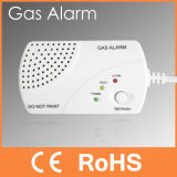 Portable 220V Gas Detector Alarm for Home Security (PW-936AC)