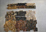 Stone Pebble Mosaic with Net for Paving