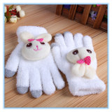 Winter Warm Cute Rabbit Soft Touch Screen Fashion Lady iPad Smart Phone Gloves