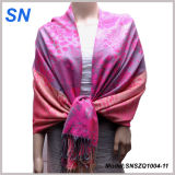 Fashion Hot Sell Ladies Evening Shawl Pashmina Scarf in Stock