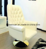 Modern American Leather Boss Chair Ou Set Auger of Large Chair Golden Foot Office Chair Anchor Chair (M-X3454)