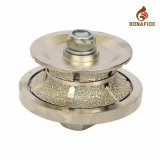 Vacuum Brazed Granite Router Bit Profile Wheel, Grinding Wheel, Granite Profile Wheel