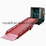 CE Proved Mobile Warehouse Forklift Loading Ramp