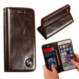Real Leather Flip Mobile Phone Case for Most Brand