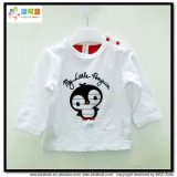Long Sleeve Baby Clothes White Baby Girl T-Shirts
