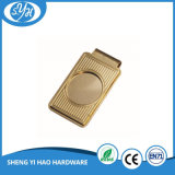 High Quality Company Logo Gold Money Clips