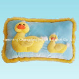Plush Duck Cushion with Soft Material