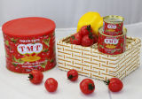2200 G Gino Canned Tomato Paste with Normal or Easy Open Tin