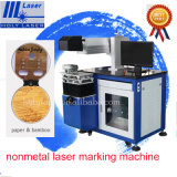 Rotary Axis Attached 60W Mini CO2 Laser Marking Machine