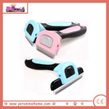 Stocked Dog Grooming Comb in Pink and Blue, Available in 3 Sizes