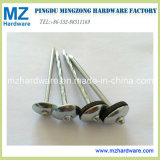 Smooth/Twist Shank Umbrella Roofing Nail with Washer
