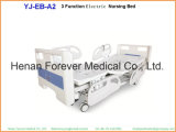 Hospital Furnitures Electric Nursing Patient Adjustable Bed with Table