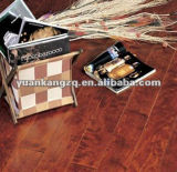 3-Layers UV Lacquer Bruched Prefinished Oak Parquet Engineered Flooring