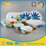 Modern Design Melamine Tableware Kitchen Plastic Ware Set