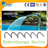 Stainless Steel Pool Used Hydrotherapy Device Waterfall Nozzle