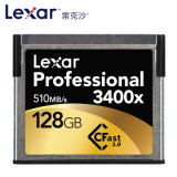 Lexar Professional 3400X 510MB/S 128GB SATA SSD Cfast Memory Card Cfast2.0 for High Speed Camera
