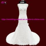 Hot Sale Spaghetti Strap Bridal Wedding Gown
