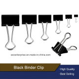 15mm, 19mm, 25mm, 32mm, 41mm, 51mm Black Binder Clips