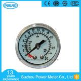 30 ATM Ce & ISO Certified Y-40d Medical Oxygen Pressure Gauge