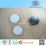 Disc Magnet with Transparent Glue Covering